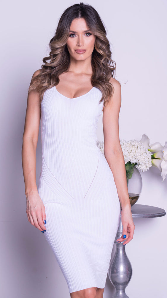 MELANIA DRESS IN WHITE -3COLORS