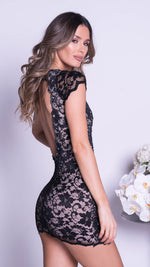EMMA LACE DRESS IN BLACK - MORE COLORS
