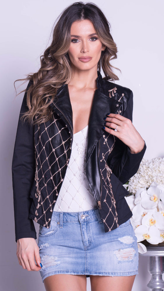 ANIALE JACKET IN BLACK