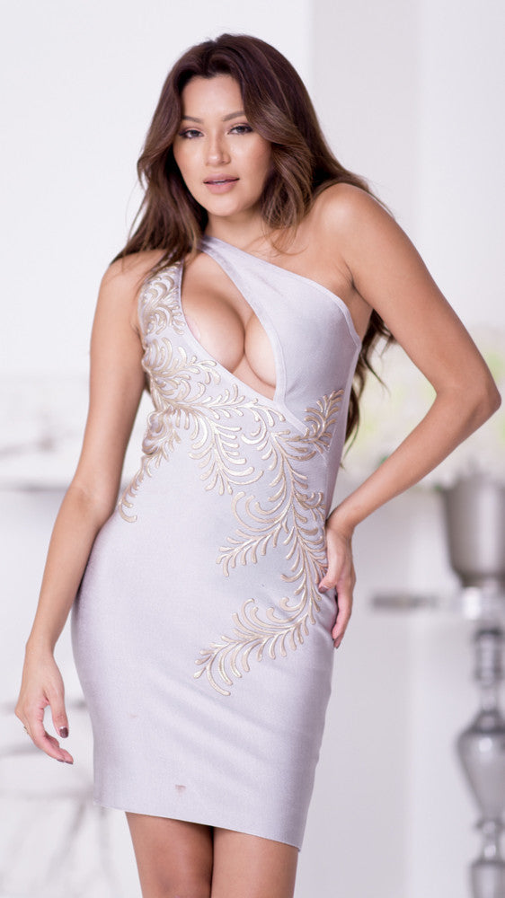 CRUZ BANDAGE DRESS - 4 COLORS