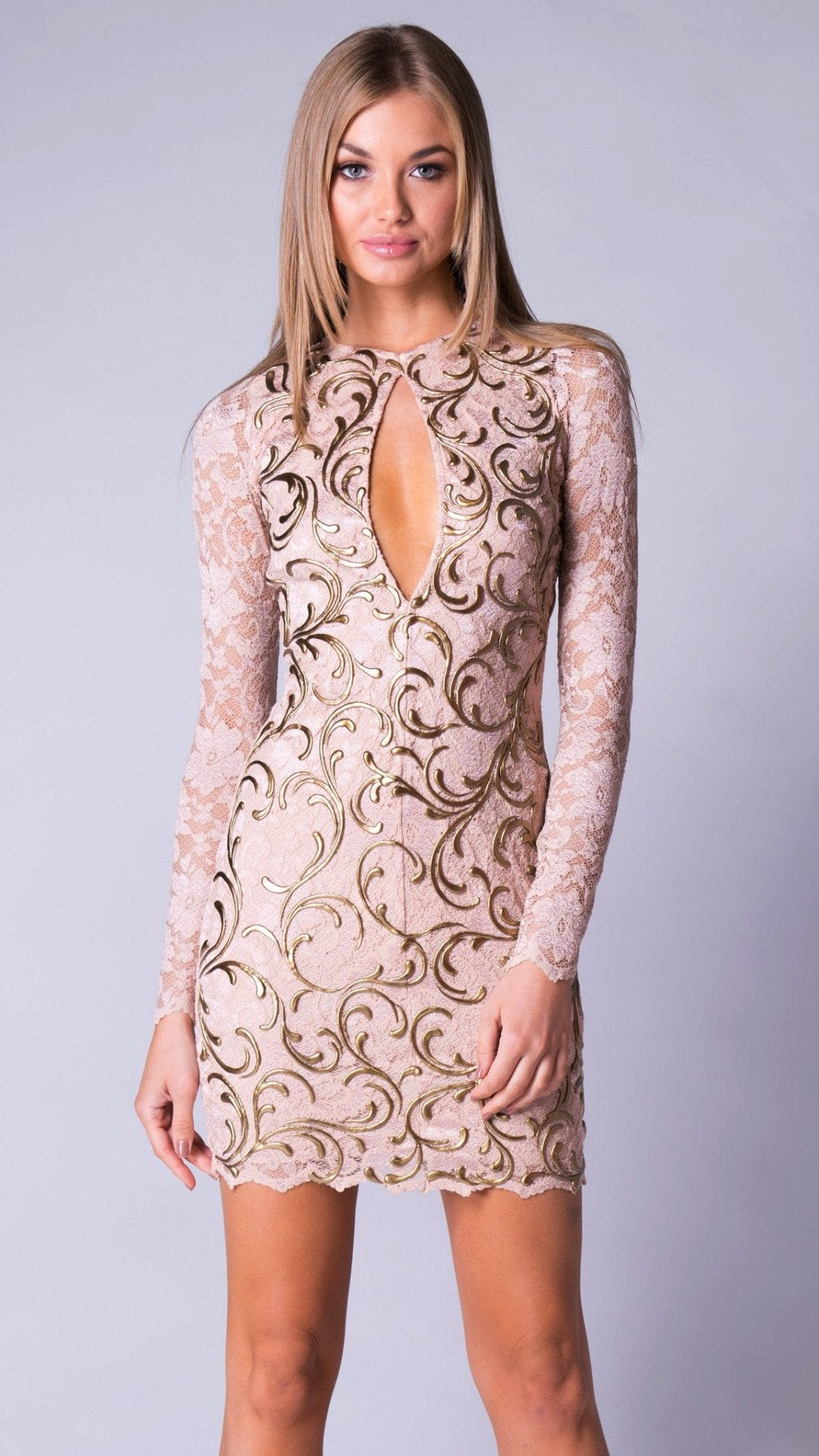 ALEXI LACE DRESS - MORE COLORS