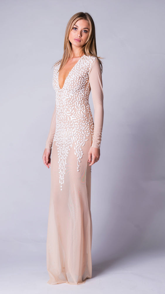 KAHE GOWN IN NUDE