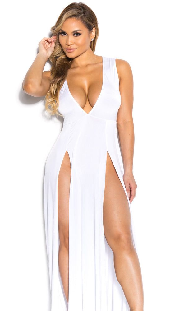 JULIE GOWN IN WHITE