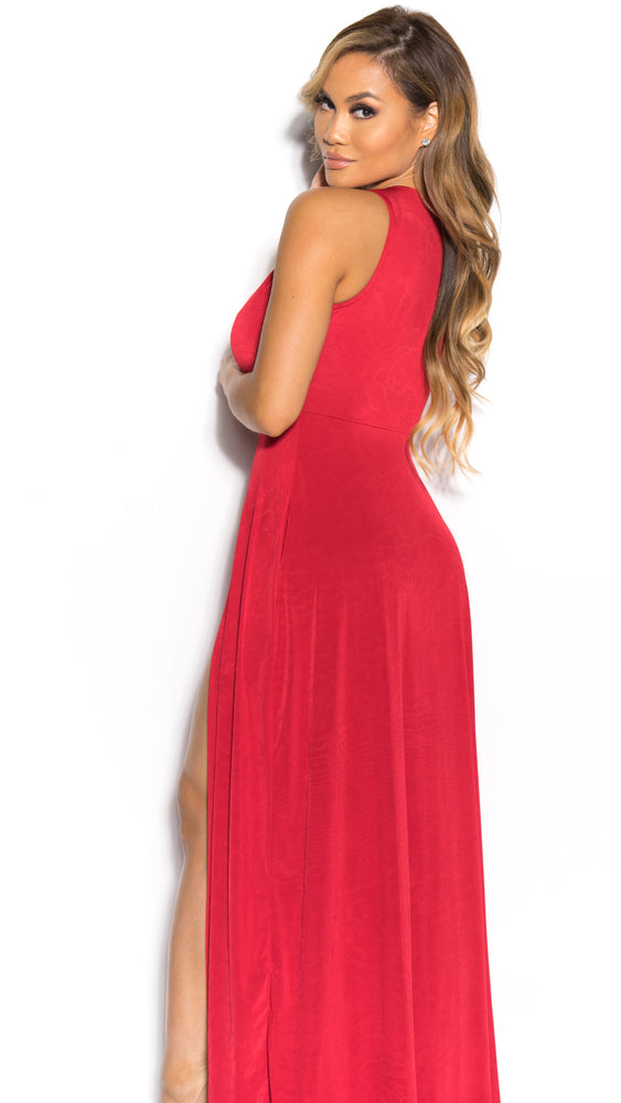 JULIE GOWN IN RED