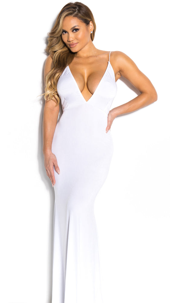 MONROE GOWN IN WHITE