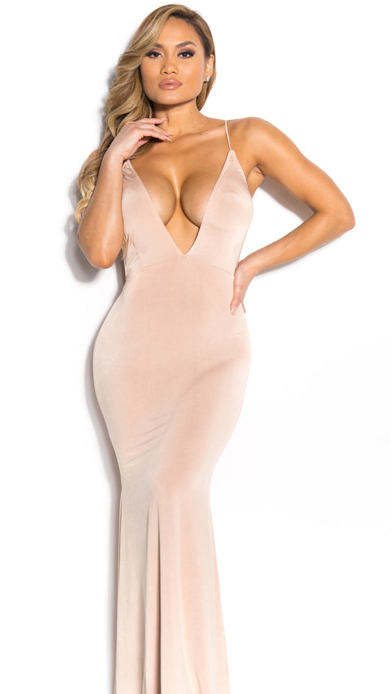 MONROE GOWN IN NUDE