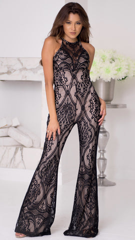 COSTA LACE JUMPSUIT