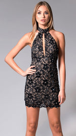 YASMIN LACE DRESS IN BLACK  - 15 COLORS