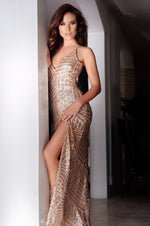 MIKALE SEQUIN GOWN