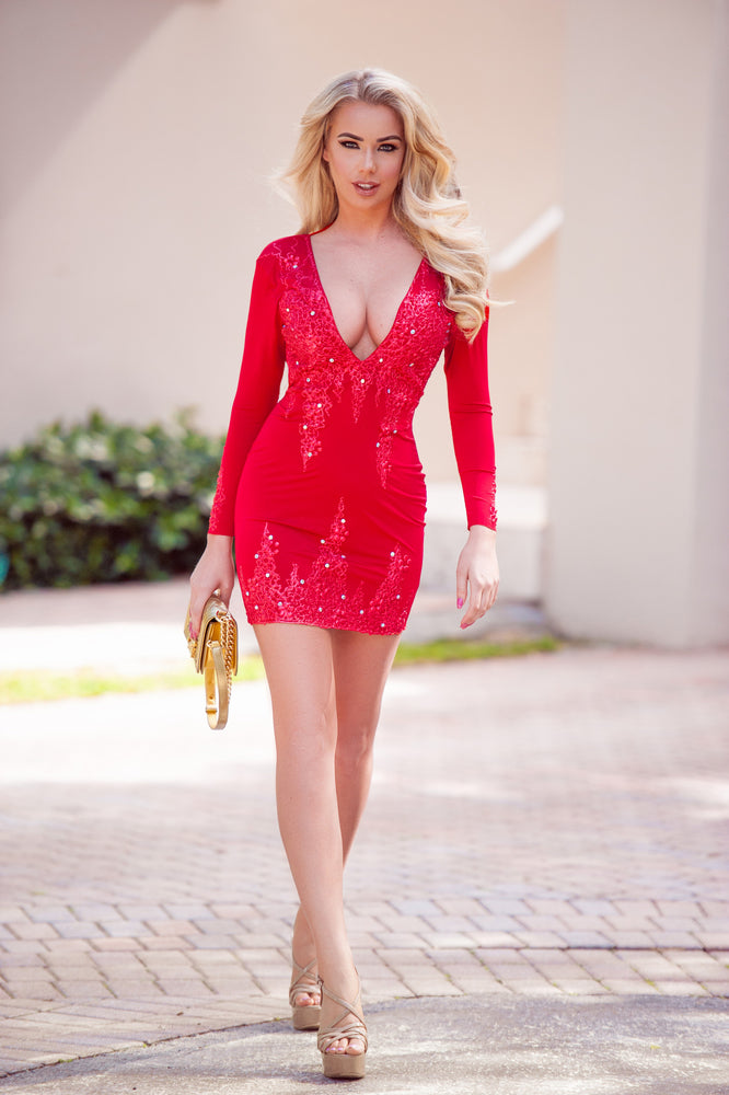 LIMITED EDITION DRESS IN RED