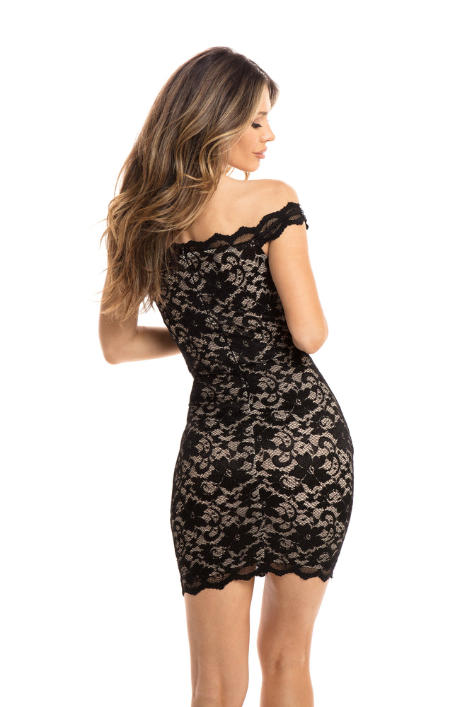 KALI DRESS IN BLACK