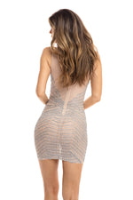 SKYE DRESS IN NUDE