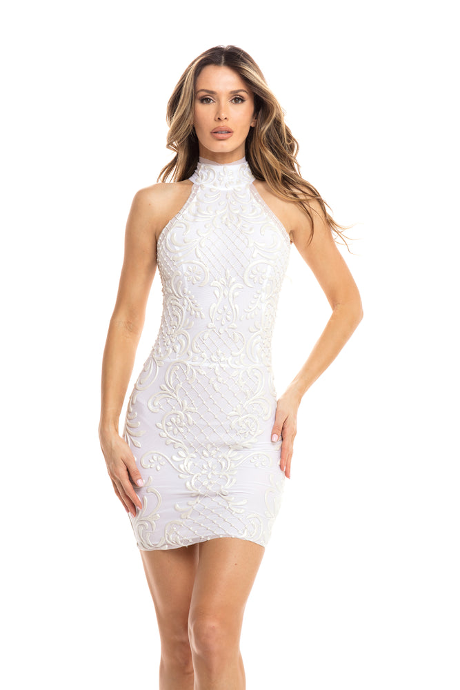 AMABEL DRESS IN WHITE