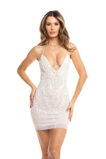 AINE DRESS IN WHITE