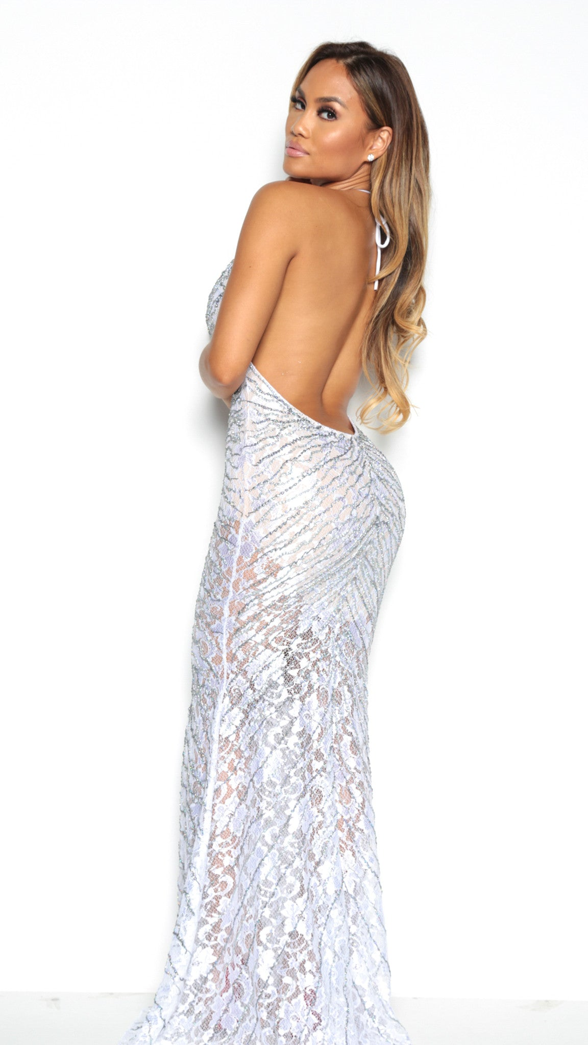 LARA GOWN IN WHITE