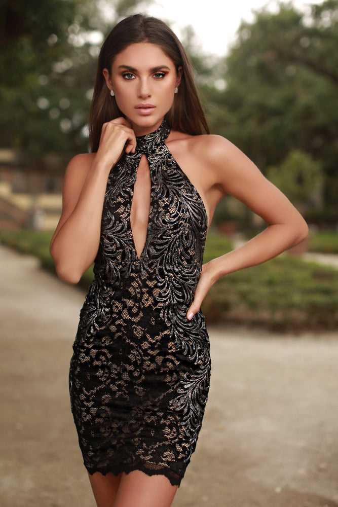 YANA LACE DRESS IN BLACK - 15 COLORS