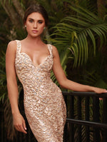 BRIE LACE DRESS IN BEIGE - 15 COLORS