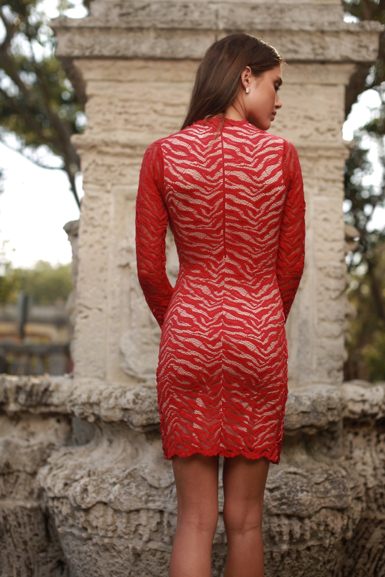 POCANE DRESS IN RED - 5 COLORS AVAILABLE