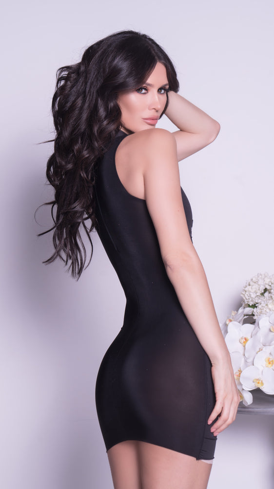 HULINE DRESS IN BLACK