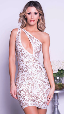 SEXY CAN I BANDAGE DRESS