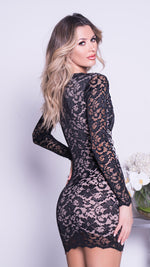 PINAI LACE DRESS IN BLACK - MORE COLORS