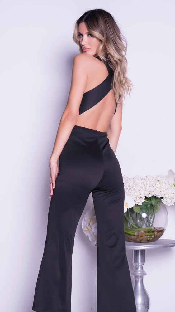 NAVAH JUMPSUIT IN BLACK WITH GOLD - 2 COLORS AVAILABLE