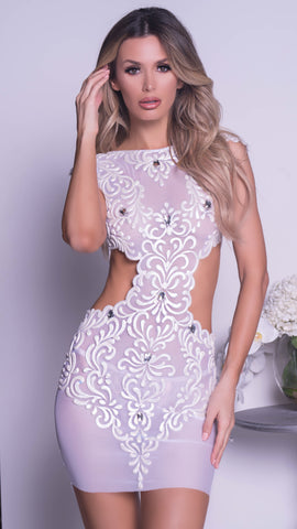 LAURALIE DRESS IN WHITE - MORE COLORS