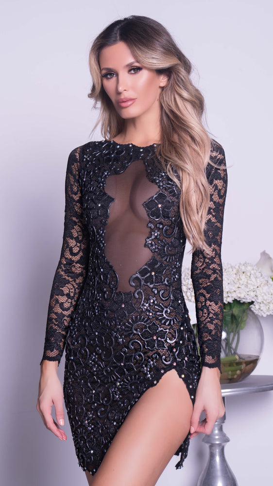 DYLA LACE DRESS IN BLACK - MORE COLORS