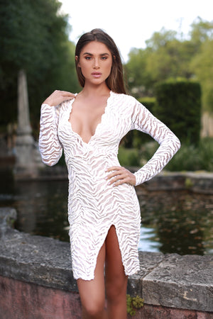 POCANE DRESS INWHITE - 5 COLORS AVAILABLE