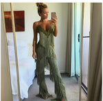 KOMALI JUMPSUIT IN OLIVE