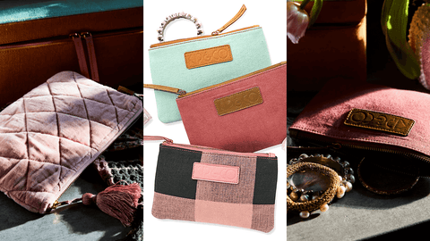 Cosmetics bag or clutch? You decide with Kip and Co's cute new collection