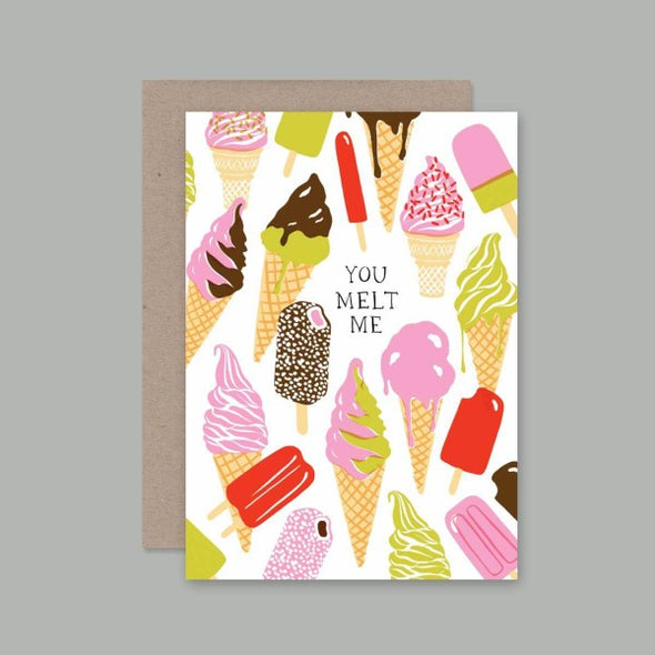 Melt Me Card by AHD Paper Co