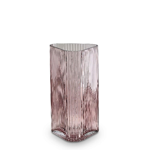 M profile vase in rose by Marmoset Found
