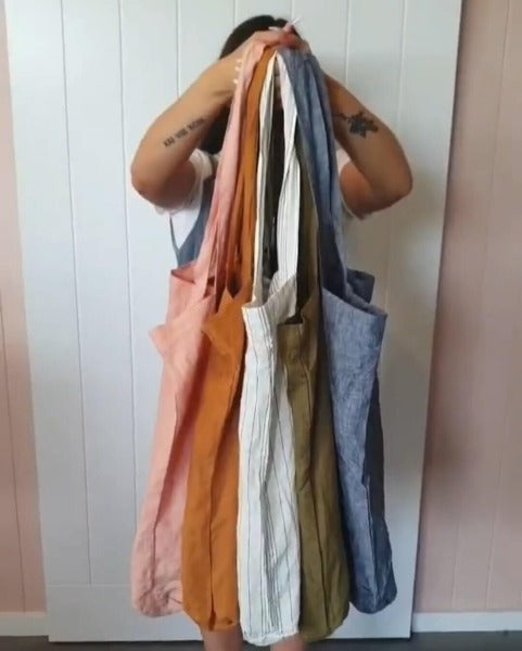 Linen Tote Bags by Bonnie + Scout