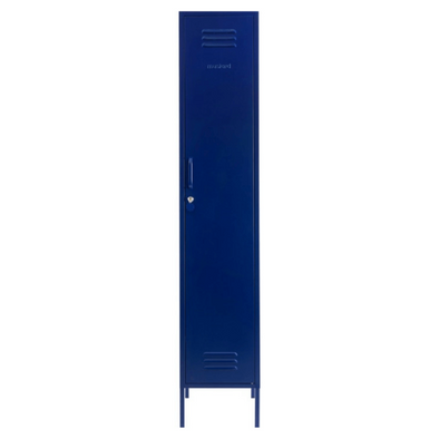The Skinny Locker In Navy by Mustard Made
