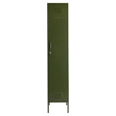 The Skinny Locker In Olive by Mustard Made