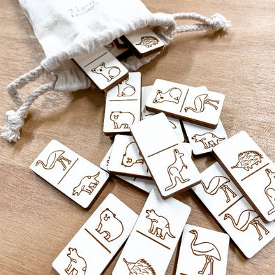 Australian Animal Domino Set by Burbridge + Burke
