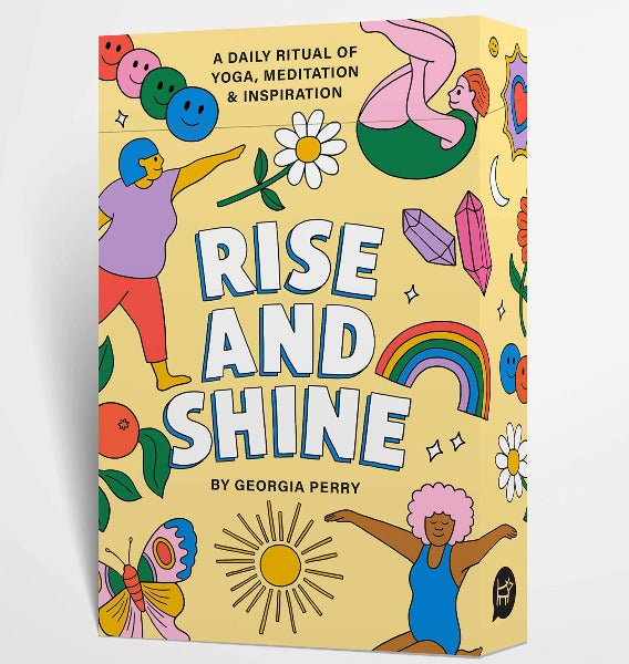Rise and Shine yoga cards by Georgia Perry