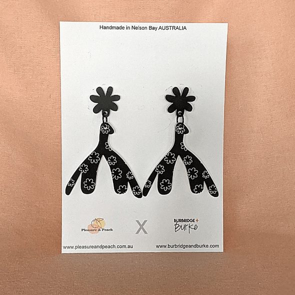 Daisy Clit Earrings (studs) by Pleasure and Peach x Burbridge + Burke