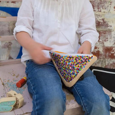 Make Me Iconic Sequin Fairy Bread Purse