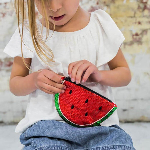 Sequin Watermelon Purse