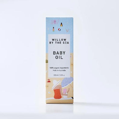 Willow By The Sea Baby Oil-Willow By The Sea-Burbridge and Burke