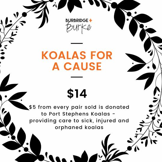 'Koalas for a Cause' studs