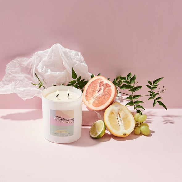 Japanese Honeysuckle candle by Ceilia Loves