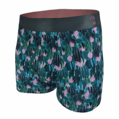 Cactus Flower Bamboo Briefs by Peggy and Finn