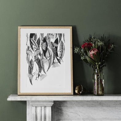 Limited Edition Flowering Gum Print by Paula Zetlein