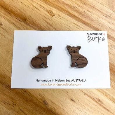 'Koalas for a Cause' studs - orders currently closed