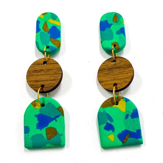 Jungle Fever Curve Earrings