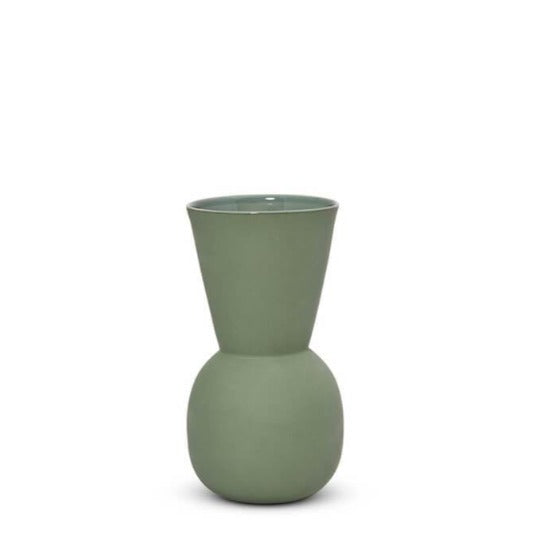 Cloud bell vase in moss by marmoset found