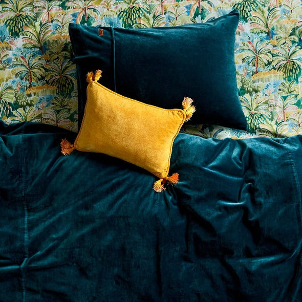 Haystack velvet souk cushion by Kip and Co